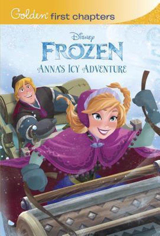 Boek cover Disney Frozen: Annas Icy Adventure van Random House Disney (Paperback)
