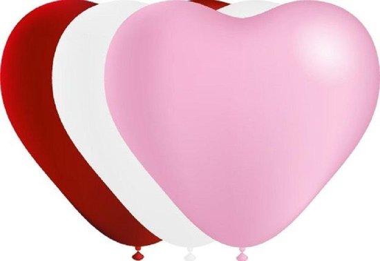 Hart ballonnen 10 stuks