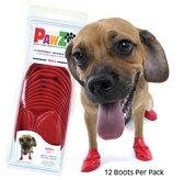 Pawz Hondenschoenen - Small Rood