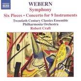 Webern:Sym.Six Pieces For Larg