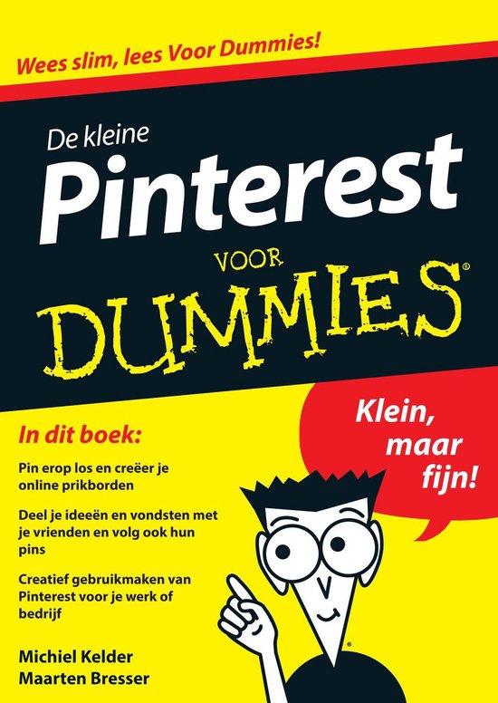 Voor Dummies - De kleine pinterest voor Dummies - Michiel Kelder |