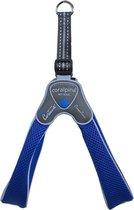 Luxe Coralpina - Hondenharnas tuig Cinquetorri blauw 30-40 cm maat 3