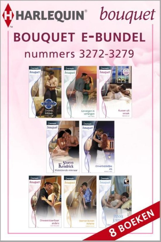 Bouquet nummers 3272 - 3279, 8-in-1 - Cathy Williams |