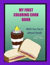My First Coloring Cook Book