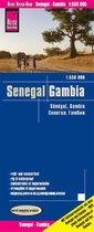 Reise Know-How Landkaart Senegal, Gambia