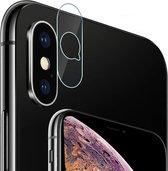 Camera Lens Screenprotector voor Apple iPhone Xs Max Glazen Gehard | Case Friendly | Tempered Glass - van iCall