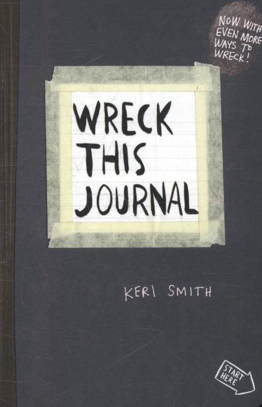 Boek cover Wreck This Journal van K. Smith (Paperback)