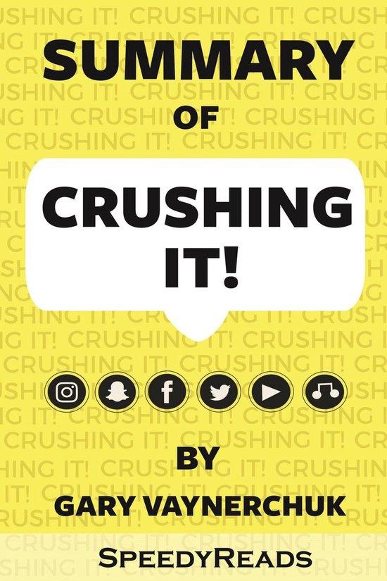 Boek cover Summary of Crushing It! van Speedy Reads (Onbekend)
