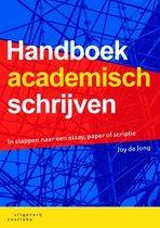 Boek cover Handboek academisch schrijven van Joy de Jong