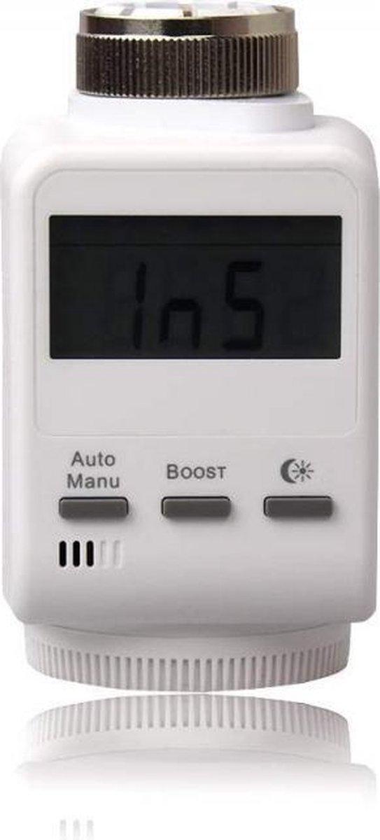 Blaupunkt Slimme Radiatorknop TRV-S1 - Smart Home - Makkelijk geïnstalleerd