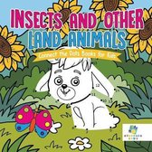 Insects and Other Land Animals Connect the Dots Books for Kids