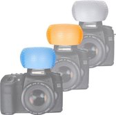 Pop Up Flits Diffuser - Flash / Flitser Licht Diffuser - Voor Canon / Nikon / Pentax Camera