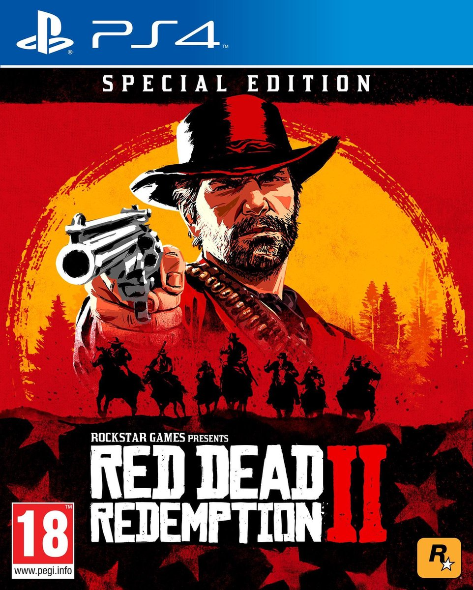 Red Dead Redemption 2 - Special Edition - PS4 - Sony