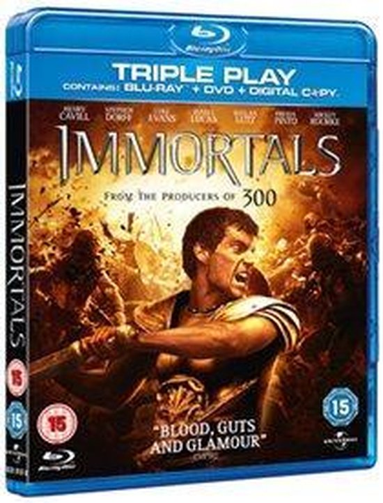 Cover van de film 'Immortals'