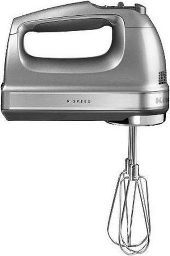 KitchenAid 5KHM9212ECU - Handmixer - Contour Zilver