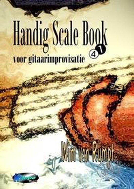 Handig scale boek - Gitaarboek voor improvisatie - W. van Rumpt |