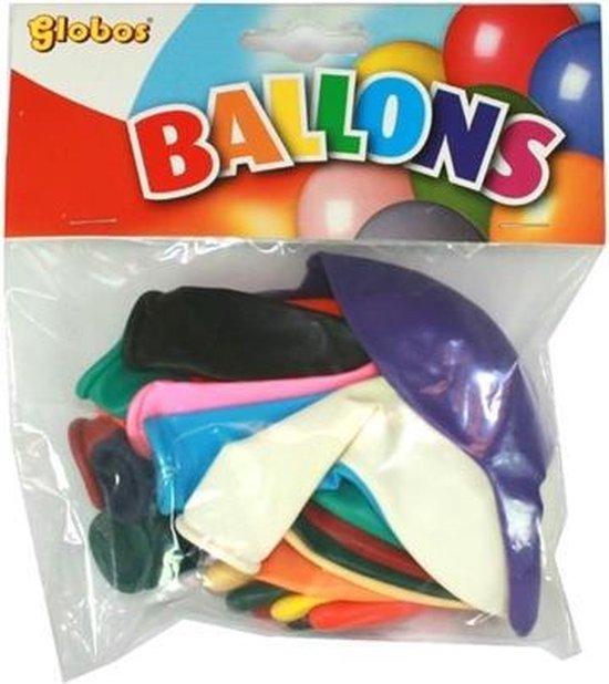 20X15 Doorknoopballons Ass. Dk/15