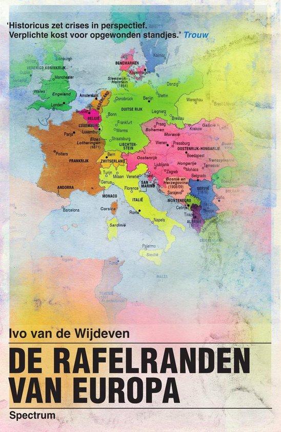 Boek cover De rafelranden van Europa van Ivo van de Wijdeven (Onbekend)