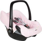 Koeka Autostoelhoes Antwerp 0+ (3 punts) - old baby pink