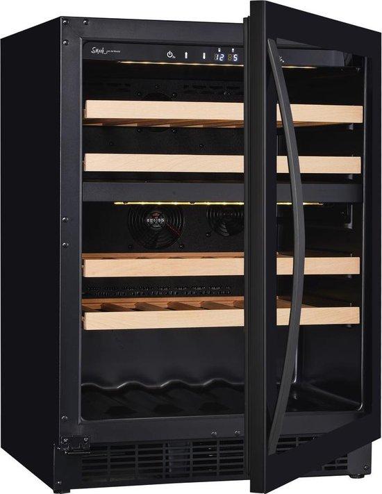 Koelkast: Wine Klima Excellence D46T-1D - Wijnkoelkast - 39 flessen, van het merk Wine Klima