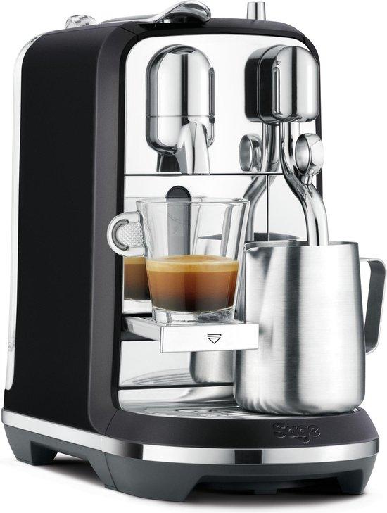 Nespresso Sage Creatista Plus SNE800BTR2EBL1 - Koffiecupmachine - Zwart