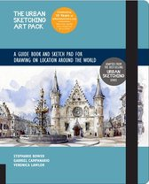 The Urban Sketching Art Pack: A Guide Book and Sketch Pad for Drawing on Location Around the World-Includes a 112-page paperback book plus 112-page sketchpad