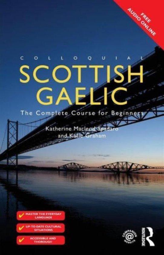 Boek cover Colloquial Scottish Gaelic van Katie Graham (Paperback)