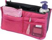 Bag in Bag Tas Organizer 11 vakken en ritssluiting - Roze