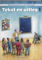 Boek cover Tekst en uitleg 1 van M. Goossens