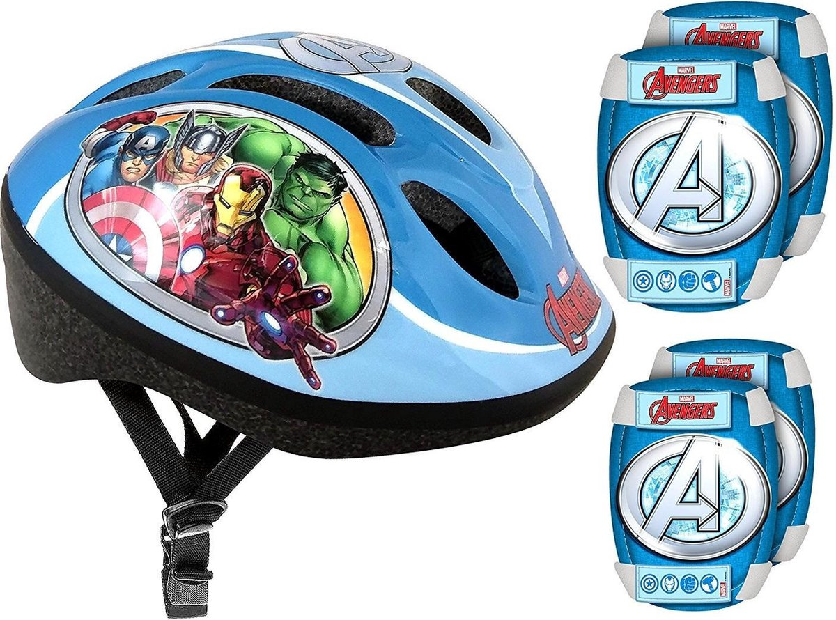 Marvel Beschermset Avengers Blauw 5-delig