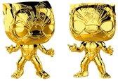 Black Panther (Chrome) #383 - Marvel - 10 year Anniversary - Funko POP!