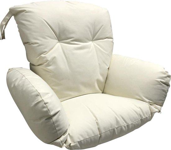 Hangstoel Egg Chair Wit.Bol Com Kussen Voor Hangstoel Of Eggchair Gebroken Wit