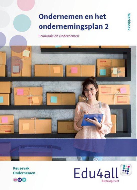 VMBO Economie & Ondernemen - Ondernemen en het ondernemingsplan 2 Keuzevak Ondernemen Werkboek - none   Fthsonline.com
