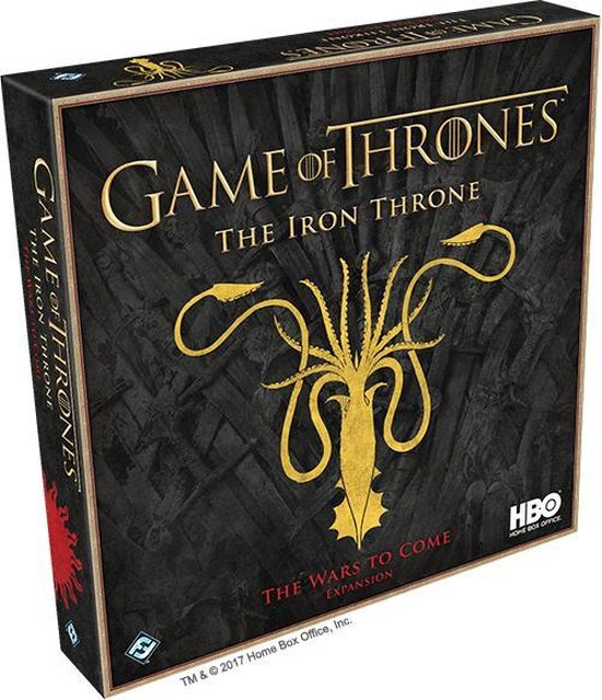 Asmodee GOT HBO - The Iron Throne: The Wars to Come - EN