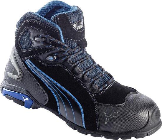 Puma Werkschoenen - Rio hoog S3 - Maat 42 - Zwart
