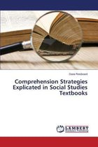 Comprehension Strategies Explicated in Social Studies Textbooks