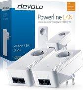 Devolo dLAN 550 Duo+ - Powerline zonder wifi - 2 Stuks - NL