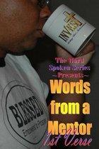 Boek cover Words from a Mentor van MR Morris Maurice Broadnax Sr