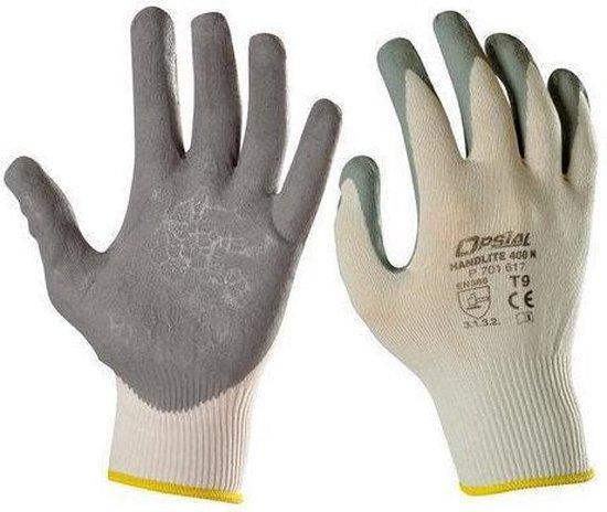 Opsial werkhandschoenen Handlite 400 N maat 10
