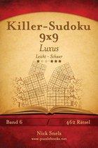 Killer-Sudoku 9x9 Luxus - Leicht Bis Schwer - Band 6 - 462 R tsel
