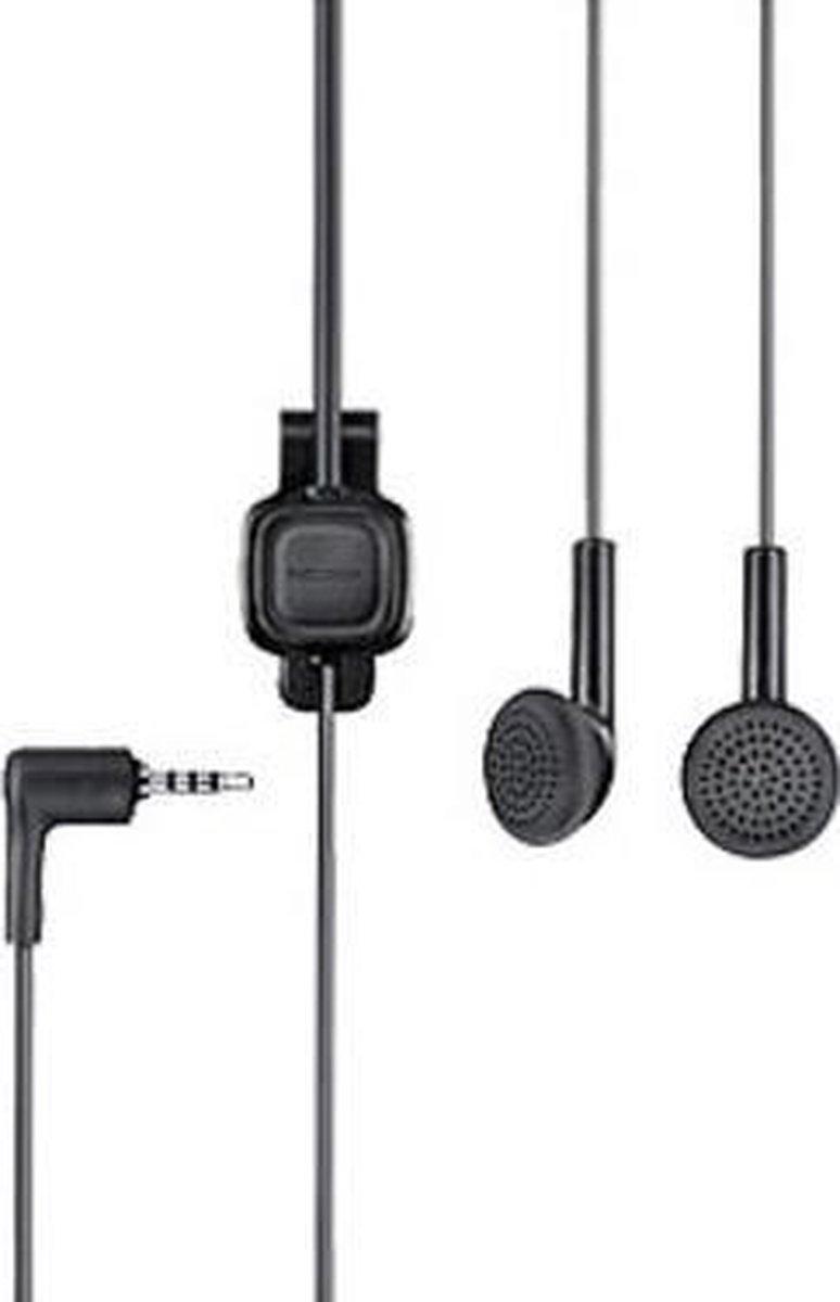 Nokia WH-101 In-ear Stereofonisch Bedraad Zwart mobiele hoofdtelefoon