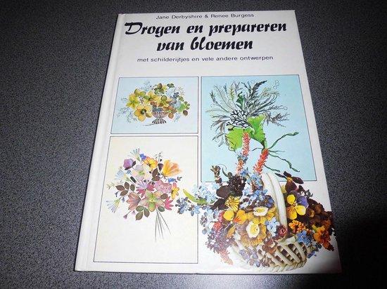 Drogen en prepareren van bloemen - J. Derbyshire |