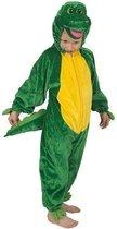 Krokodil Pluche - Kostuum - Maat 104 - Groen