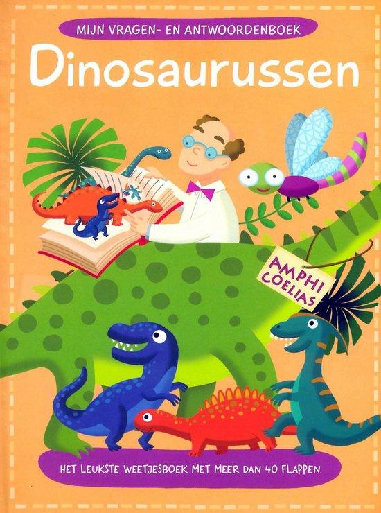 Boek Vragen & Antwoorden Dinosauriers - Veldboeket Lektuur |