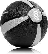 #DoYourFitness® - Medicijnbal / gewicht bal »Abril« in 1 2 3 4 5 6 7 8 9 10 (kg) - Medicinebal met extreem antislip oppervlak - Cross design - 8kg