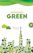 Address Book Green