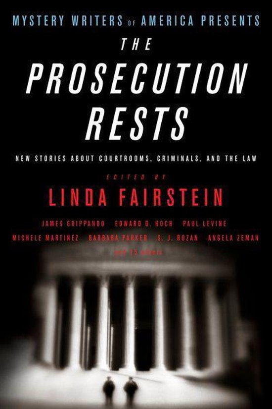 Omslag van Mystery Writers of America Presents The Prosecution Rests