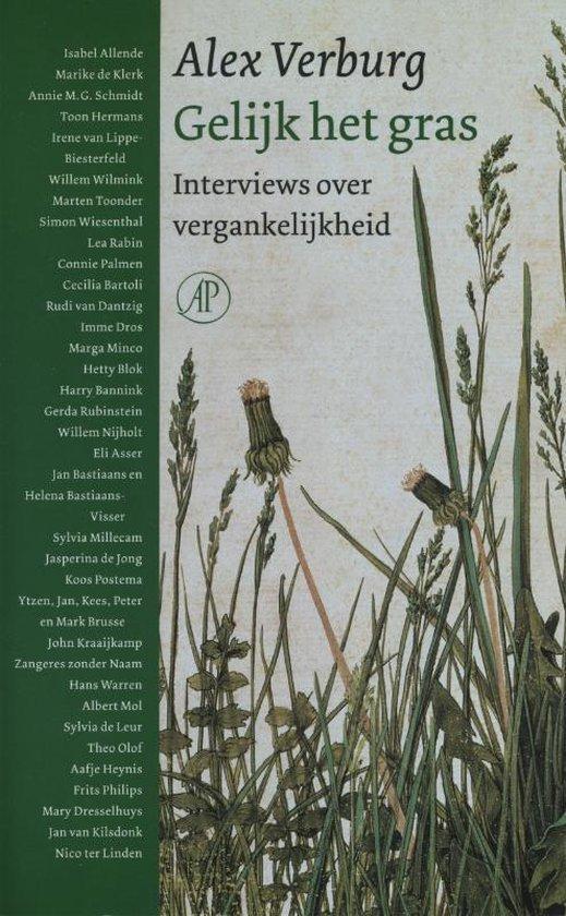 Gelijk het gras - Alex Verburg |