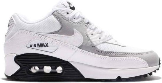 bol.com | Nike Air Max 90 325213-126 Wit Grijs Zwart - Maat 40,5