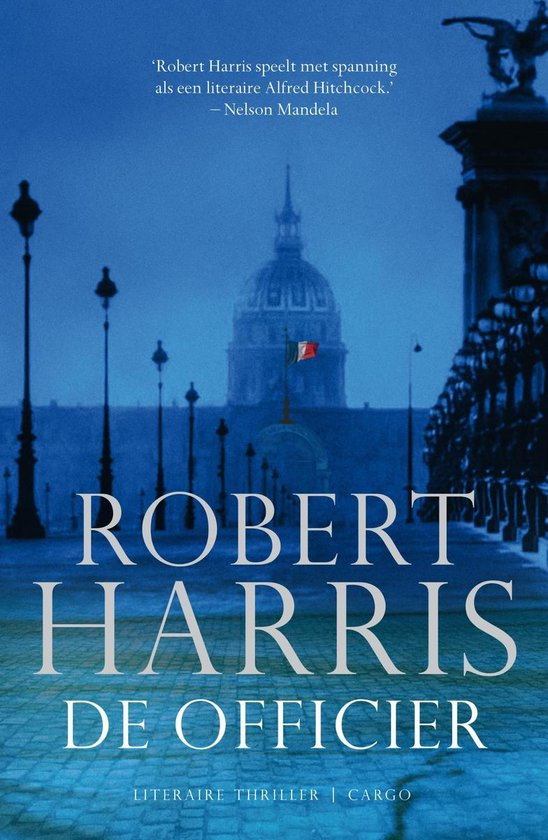 Boek cover De officier van Robert Harris (Onbekend)